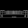 ALCAPLAST A710 FLEXIBILIS BEKÖTŐCSŐ 40×40