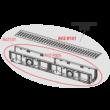 """ALCAPLAST AVZ101-R101 Kültéri folyóka 100 mm keret nélküli horganyzott """"T"""" alakú ráccsal A15"""