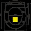 ALCAPLAST A604 PISTACHIO WC ülőke univerzális SOFTCLOSE, Duroplast