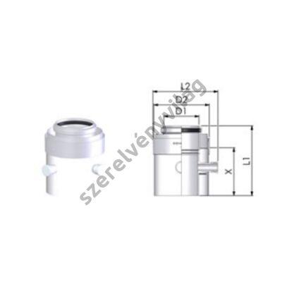 TRICOX D 60/100 mm-es mérőpont