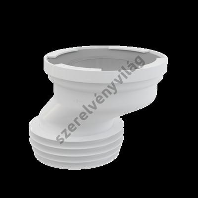 ALCAPLAST A991-40 EXCENTRIKUS CSATLAKOZÓ A WC-HEZ 40 MM