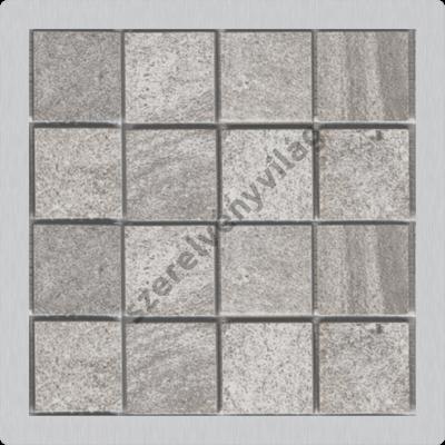 ALCAPLAST MPV016 Burkolható rozsdamentes rács a rozsdamentes padlóösszefolyókhoz 92×92 mm