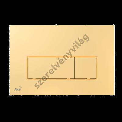 ALCAPLAST M575 Nyomólap a falsík alatti szerelési rendszerekhez, arany