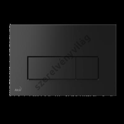ALCAPLAST M578 Nyomólap a falsík alatti szerelési rendszerekhez, fekete-matt
