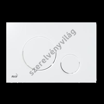 ALCAPLAST M670 Nyomólap a falsík alatti szerelési rendszerekhez, fehér