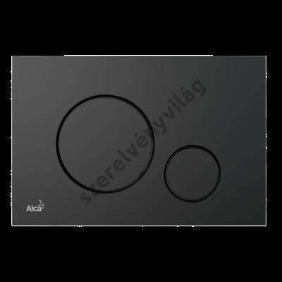 ALCAPLAST M678 Nyomólap a falsík alatti szerelési rendszerekhez, fekete-matt