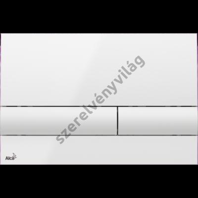 ALCAPLAST M1710 Nyomólap a falsík alatti szerelési rendszerekhez, fehér