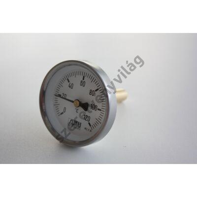 """Hőmérő 1/2""""-os 30-50-80-100 mm benyúlással"""