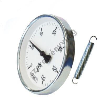 Hőmérő rugós