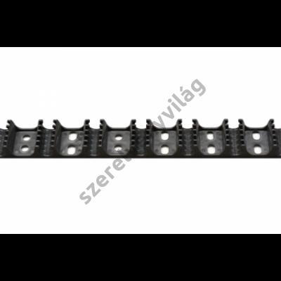 VALSIR 16mm csőrögzítő profil falfűtésre