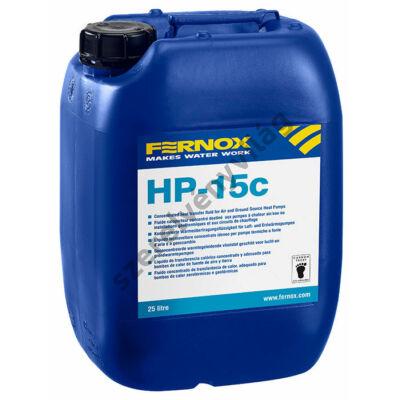 FERNOX HP-15c hőátadó folyadék koncentrátum levegő-víz és föld-víz hőszivattyúkhoz 20L
