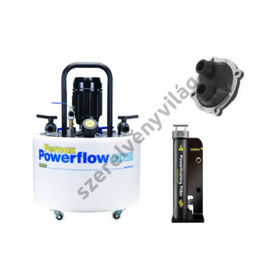 FERNOX POWERFLOW FLUSHING MACHINE MKIII fűtésirendszer tisztitógép + SET