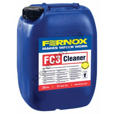 FERNOX HVAC FC3 tisztítószer kereskedelmi fűtő- és hűtőrendszerekhez 20L