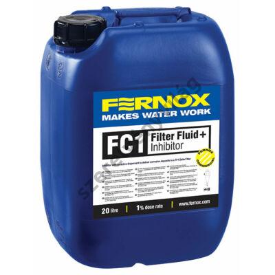 FERNOX HVAC FC1 FILTER FLUID + INHIBITOR korrozió és vízkövesedés gátló 20L
