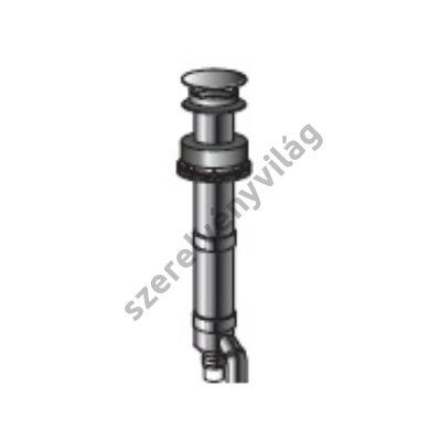 FONDITAL D 80 koncentrikus kivezetés indítóidommal (tetőkivezetés)