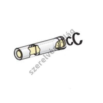 FONDITAL D 60/100 egyenes cső 0,5 m