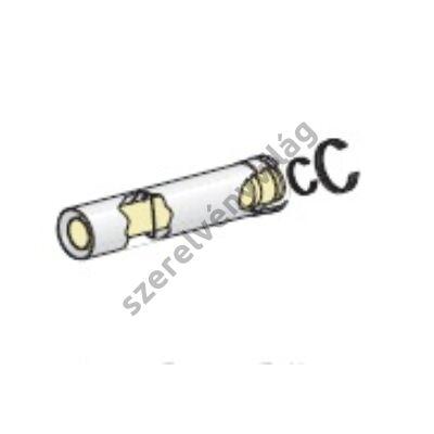 FONDITAL D 80/125 egyenes cső 0,5 m