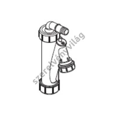 FONDITAL D 100 kondenzszifon vízszintes csatlakozással