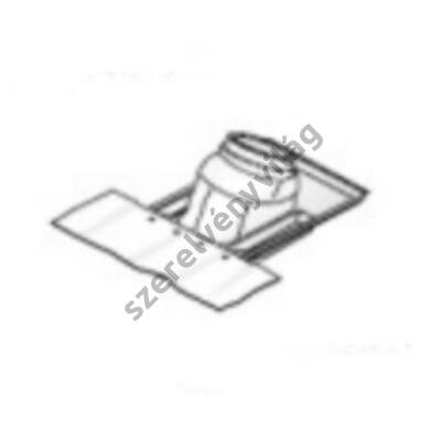 FONDITAL D 80/125 ferdetető átvezetés (szigetelő gallér)