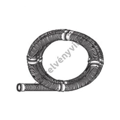 FONDITAL D 100 flexibilis cső 20 m (tömítés nélkül)