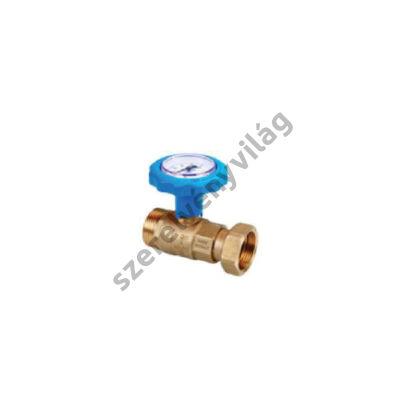 NOVASFER hőmérős golyóscsap K-BH,  ART 843/TE