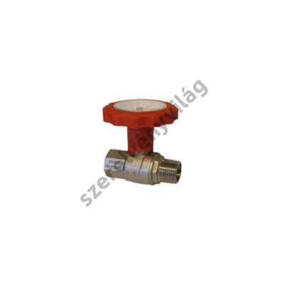 NOVASFER hőmérős golyóscsap, hosszított kivitel, K-B fix, ART 745/TE