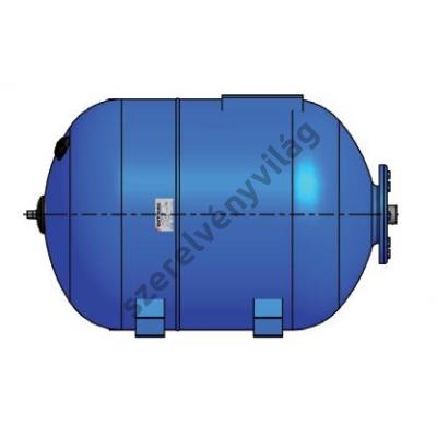 GITRAL BLUE használati- és ivóvíz tartály (24L-től 300L-ig, fekvő kivitel)