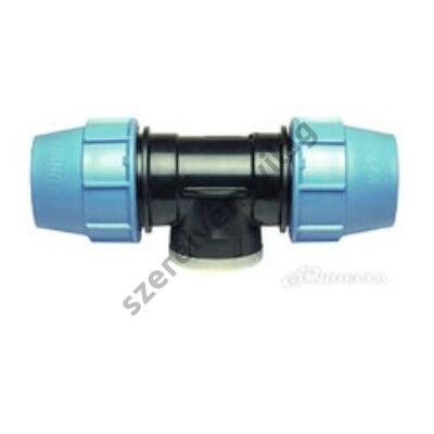 UNIDELTA műanyag kpe T idom középen belső menettel (20-40mm)